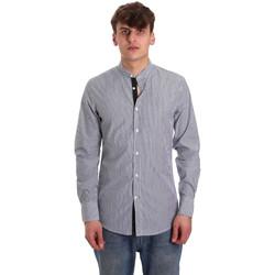 textil Herr Långärmade skjortor Antony Morato MMSL00588 FA420042 Blå