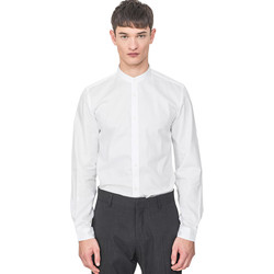 textil Herr Långärmade skjortor Antony Morato MMSL00604 FA440031 Vit