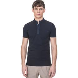 textil Herr Kortärmade pikétröjor Antony Morato MMKS01741 FA120022 Blå