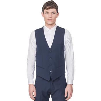 textil Herr Koftor / Cardigans / Västar Antony Morato MMVE00087 FA650176 Blå