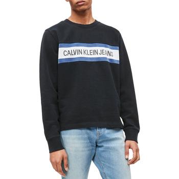 textil Herr Sweatshirts Calvin Klein Jeans J30J312448 Svart