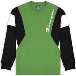 textil Herr Sweatshirts Champion 213640 Grön