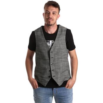 textil Herr Koftor / Cardigans / Västar Gaudi 921FU35035 Grå