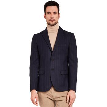 textil Herr Jackor & Kavajer Gaudi 921FU35057 Blå