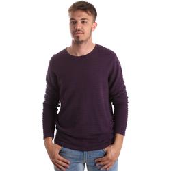 textil Herr Tröjor Gaudi 921FU53017 Violett