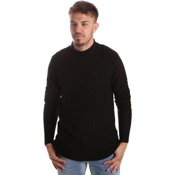 textil Herr Tröjor Gaudi 921FU53025 Svart