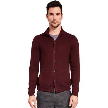textil Herr Koftor / Cardigans / Västar Gaudi 921FU53019 Röd