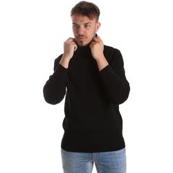 textil Herr Tröjor Gaudi 921FU53048 Svart
