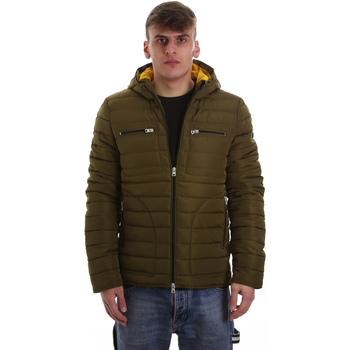 textil Herr Täckjackor Gaudi 921BU35019 Grön
