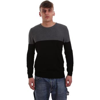 textil Herr Tröjor Gaudi 921BU53010 Svart