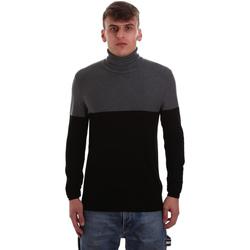textil Herr Tröjor Gaudi 921BU53011 Svart