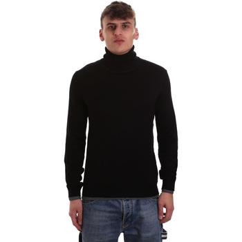 textil Herr Tröjor Gaudi 921BU53040 Svart