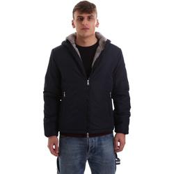 textil Herr Sweatjackets Gaudi 921BU35006 Blå