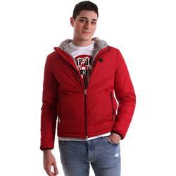 textil Herr Vindjackor Gaudi 921BU35006 Röd