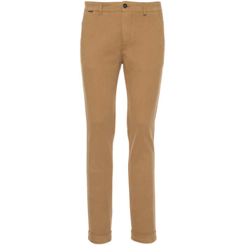 textil Herr Chinos / Carrot jeans Nero Giardini A970550U Beige