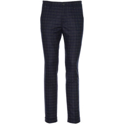 textil Herr Kostymbyxor Nero Giardini A970573U Blå