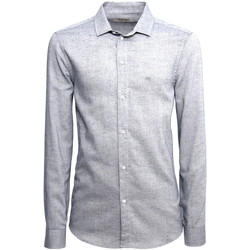 textil Herr Långärmade skjortor Nero Giardini A973180U Blå