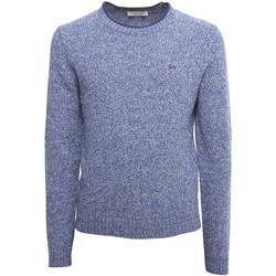 textil Herr Tröjor Nero Giardini A974510U Blå