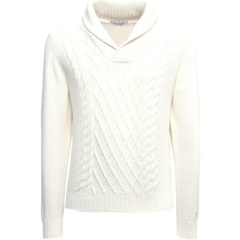 textil Herr Tröjor Nero Giardini A974530U Vit