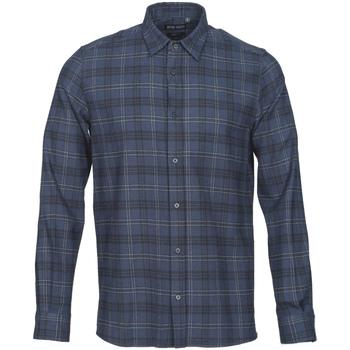 textil Herr Långärmade skjortor Antony Morato MMSL00551 FA410123 Blå