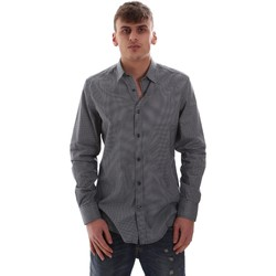 textil Herr Långärmade skjortor Antony Morato MMSL00574 FA430158 Blå
