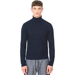 textil Herr Tröjor Antony Morato MMSW00977 YA200055 Blå