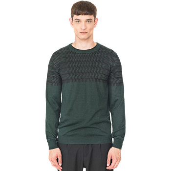 textil Herr Tröjor Antony Morato MMSW00994 YA400006 Grön