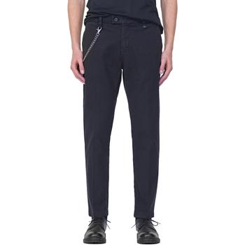 textil Herr Chinos / Carrot jeans Antony Morato MMTR00526 FA800094 Blå