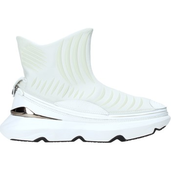 Skor Herr Höga sneakers Ea7 Emporio Armani X8Z019 XK121 Vit