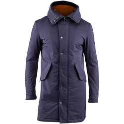 textil Herr Parkas Lumberjack CM37821 003 505 Blå