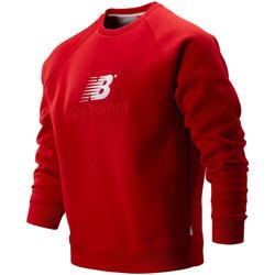 textil Herr Sweatshirts New Balance NBMT93575REP Röd