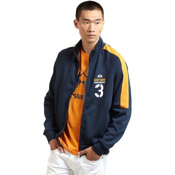 textil Herr Sweatjackets La Martina OMF606 FP077 Blå