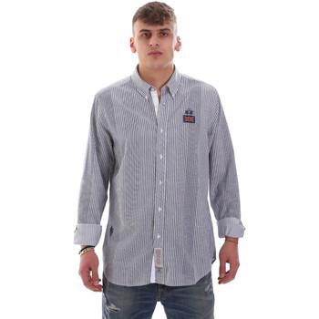 textil Herr Långärmade skjortor La Martina OMC021 PP472 Vit