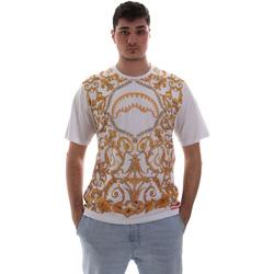 textil Herr T-shirts Sprayground SP019S Vit