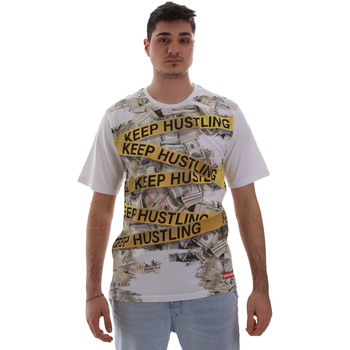 textil Herr T-shirts Sprayground SP017S Vit