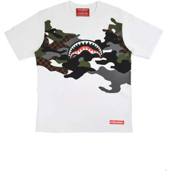 textil Herr T-shirts Sprayground SP022S Vit