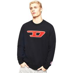 textil Herr Sweatshirts Diesel 00SY7B 0IAJH Svart