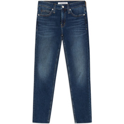 textil Dam Skinny Jeans Calvin Klein Jeans J20J211886 Blå