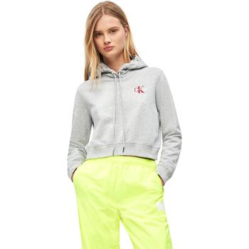 textil Dam Sweatshirts Calvin Klein Jeans J20J210601 Grå