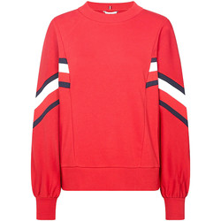 textil Dam Sweatshirts Tommy Hilfiger WW0WW25803 Röd