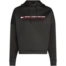 textil Dam Sweatshirts Tommy Hilfiger S10S100360 Svart