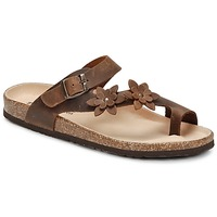 Skor Dam Flip-flops Dream in Green MINIK Brun