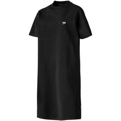 textil Dam Korta klänningar Puma 595693 Svart