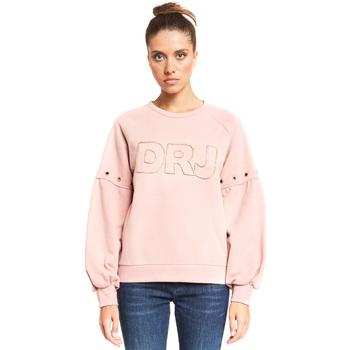 textil Dam Sweatshirts Denny Rose 921ND64018 Rosa