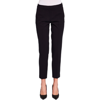 textil Dam Chinos / Carrot jeans Gaudi 921FD25020 Svart