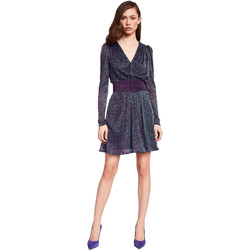 textil Dam Korta klänningar Gaudi 921FD14003 Blå