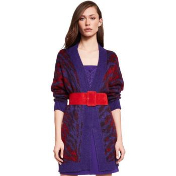 textil Dam Koftor / Cardigans / Västar Gaudi 921FD53048 Violett