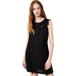 textil Dam Korta klänningar Liu Jo W69330 T4080 Svart