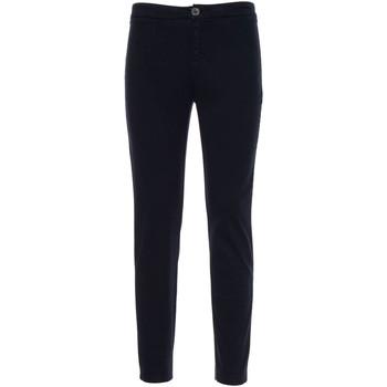 textil Dam Chinos / Carrot jeans NeroGiardini A960700D Blå