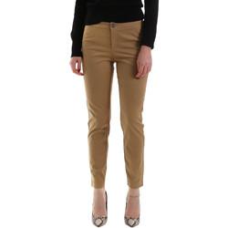 textil Dam Chinos / Carrot jeans NeroGiardini A960700D Brun